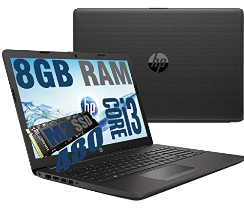 Notebook HP 250 G7 Grey Portatile Display da 15.6   Cpu Intel core I3-1005G1 3,4Ghz  Ram 8Gb DDR4  SSD M2 480GB  VGA INTEL UHD  Hdmi DVD Wifi Bluetooth Windows 10 professional + Open Office