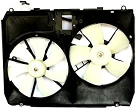 TYC 621110 Lexus RX330 Replacement Radiator/Condenser Cooling Fan Assembly