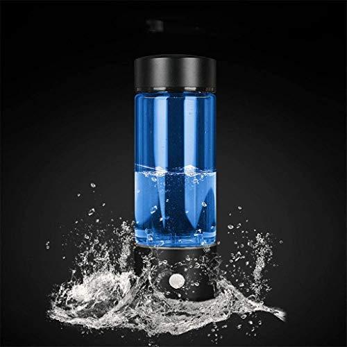 JTSYUXN Botella de Agua Rica en Hidrógeno Portátil Ionizador de Agua Hidrógeno,Generador de hidrógeno,USB Filtro de purificador de Agua de hidrógeno Rico Copa Lonizer Botella de Agua