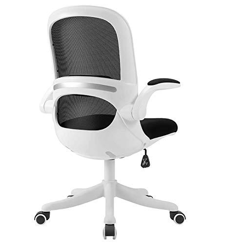 Living Decoration Bürostuhl Schreibtischstuhl Computerstuhl Haushaltsbürostuhl Studienstuhl Rückenlehnenstuhl Technischer Stuhl Heben der elastischen Taille Unterstützung Manager Stuhl (Farbe: Pink