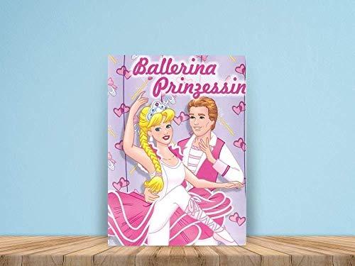 Ballerina Prinzessin - eine märchenhafte Geschichte mit dem Namen des Kindes