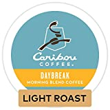 Caribou Coffee Daybreak Morning Blend, Single-Serve Keurig K-Cup Pods, Light Roast Coffee, 72 Count