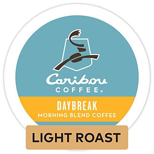 Caribou Coffee Daybreak Morning Blend, Single-Serve Keurig K-Cup Pods, Light Roast Coffee, 72 Count Colorado