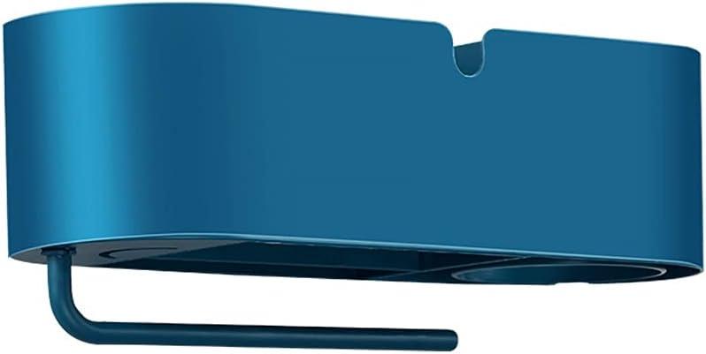 Porta Secador Montado en la pared Secador de pelo Secador de pelo Multifuncional Almacenamiento Secador de pelo Cuarto de depósito para el hogar Rack Secador de pelo Rack de almacenamiento Soporte Sec