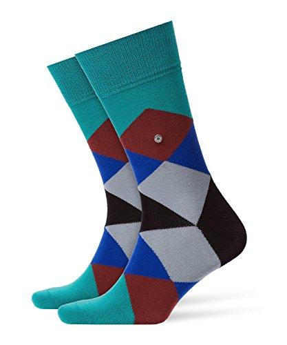BURLINGTON Herren Socken Clyde - Baumwollmischung, 1 Paar, moss mel., 40-46