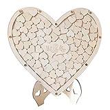 NaiCasy decoración de la Boda Libro de visitas Que la Firma decoración de la Boda Libro en Forma de corazón en casa escarda