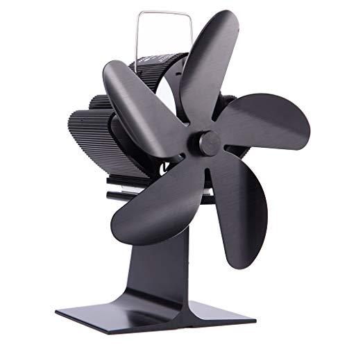 Disattivazione della ventola per caminetto ecologica Ventola per termostufa a 5 pale di R-WEICHONG