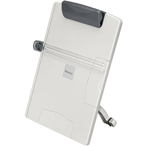 Fellowes Desktop Copyholder (21126),Platinum/Graphite