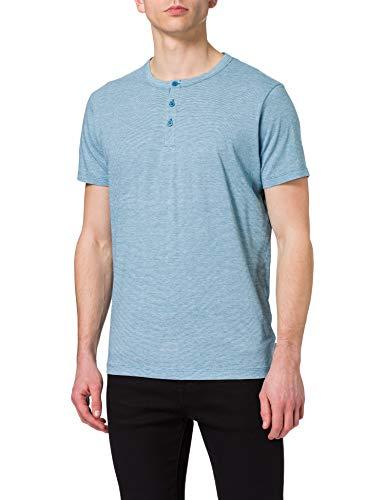 ESPRIT Herren 031EE2K311 T-Shirt, 452/PETROL Blue 3, XL