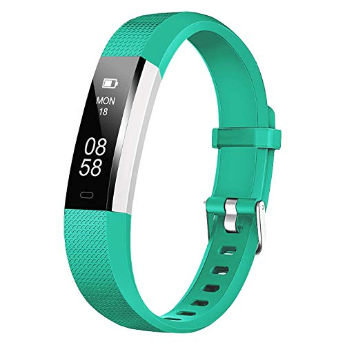KARSEEN Fitness Tracker,Fitness Watch U2 with Step Counter Watch and Activity Tracker, IP67 Waterproof Fitness Watch as Calorie Counter Pedometer Smart Watches for Kids Women Men (Green)