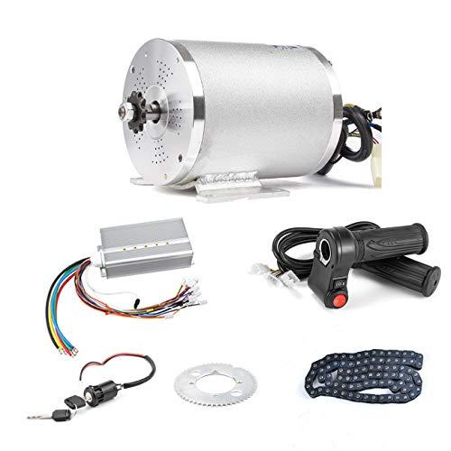 BLDC 72V 3000W Kit de motor sin escobillas con controlador de arranque...