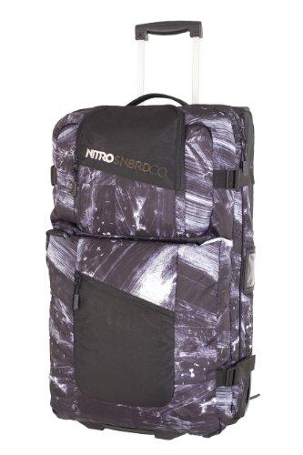 Nitro Snowboards Trolley Team Gear Bag, Bleach, 74x43x30 cm, 96 Liter, 1121-877481_1077