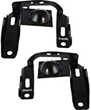 Parts N Go 1999-2000 Ranger Front Bumper Bracket Driver & Passenger Side Left/Right Hand - XL5Z17859AB, FO1067118