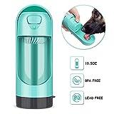 YOUTHINK Dispenser Automatico d'Acqua per Animali Domestici, Adatto per Cani (Verde)