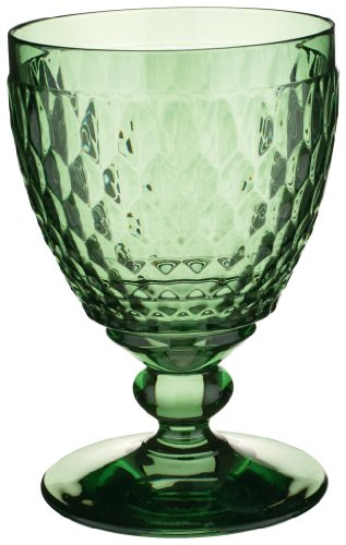 Villeroy & Boch Boston Coloured Verre à vin rouge Green, 310 ml, Cristal, Vert