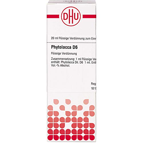 DHU Phytolacca D6 Dilution, 20 ml Lösung