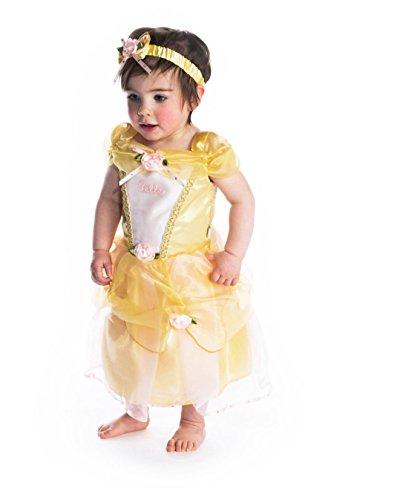 Disney Baby DCPRBE06 - princesa Dress, Belle, amarillo