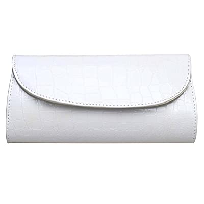 BaoLan Evening Clutch, Womens Croc Skin Embossed Clutch Purses For Party And Wedding