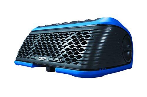 "Fusion Entertainment StereoActive - Estéreo portátil para deportes acuáticos AM/FM/WX/Bluetooth/USB - 010-01971-12, Dual 2.5"" 40 Watt, Azul"