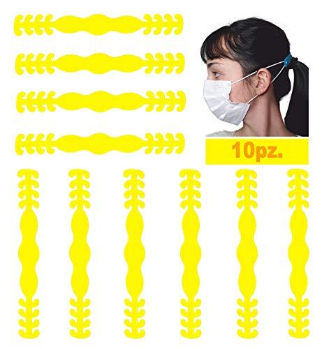 Ganchos para máscara Monturas elásticas para máscara Anillos para la oreja Diadema ajustable Protección Cuerdas de soporte para el oído Extensión Hombres Mujeres Adultos Niños