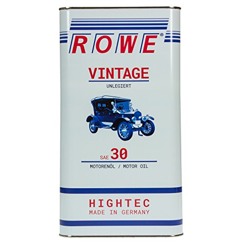 ROWE HIGHTEC VINTAGE SAE 30 UNLEGIERT, 5 Liter