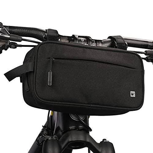 UBORSE Bike Handlebar Bag Waterproof Bike Frame Bag Bicycle Top Tube Bag for MTB Mountain Bike Cycling Storage Pouch
