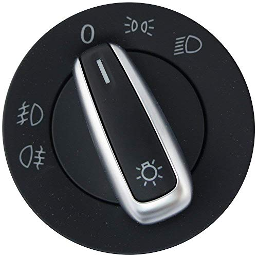 Interrupteur de lumière avec Phares antibrouillard fonction et chrome Garniture