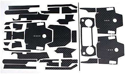 ZengBus Adesivi Impermeabili in Fibra di Carbonio DJI Mavic PRO Adesivi Telecomando Corpo Braccio Set Completo di Adesivi Accessori - Nero - Trova i prezzi più bassi