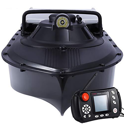 BYBYC Actualizado Pesca piloto automático Sonar Buscador de los Pescados del Barco del Cebo de Retorno automático del Barco del Cebo con Metal Guardia Propulsor,2bg