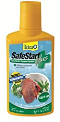 PREVENTS NEW TANK SYNDROME: Accelerates of the establishment of healthy bacteria in newly set-up freshwater aquariums. REDUCES TOXINS: Helps remove dangerous levels of ammonia and nitrite. FAST-ACTING: Starts working immediately to provide a healthy ...