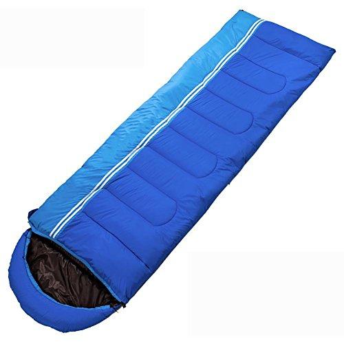 MIAO Outdoor/Binnen Vier Seizoenen Camping Reizen Volwassen Houd Warm Slapende Tas, schat blauw