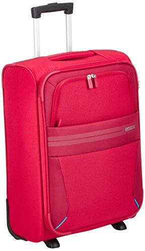 American Tourister Summer Voyager Upright Equipaje de Mano, 55 cm, 38.5 Litros, Color Rojo
