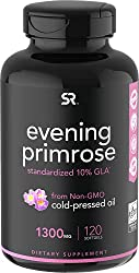 top 10 female libido enhancer Evening Primrose Oil (1300 mg) 120 Liquid Capsules ~ Cold Press Without Fillers or Artifacts…