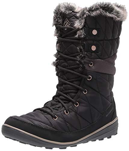 Columbia Women's Heavenly Omni-Heat Snow Boot, Black, Kettle, 7.5