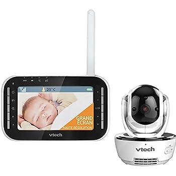 Vtech Vidéo Vision XL BM4500 Ecoute-bébé Blanc