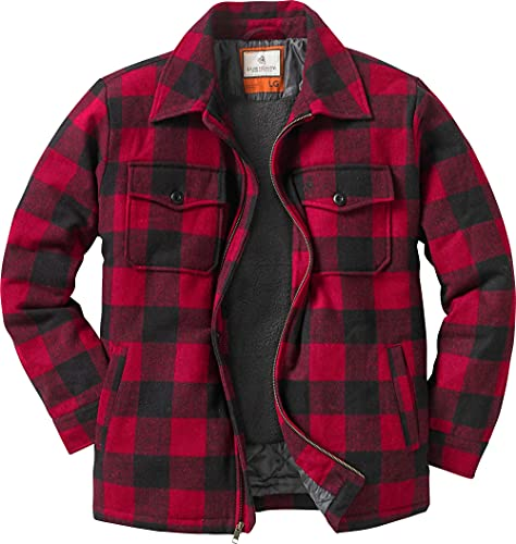 Legendary Whitetails Men's Outdoorsman Jacket, Buffalo Plaid, Small
