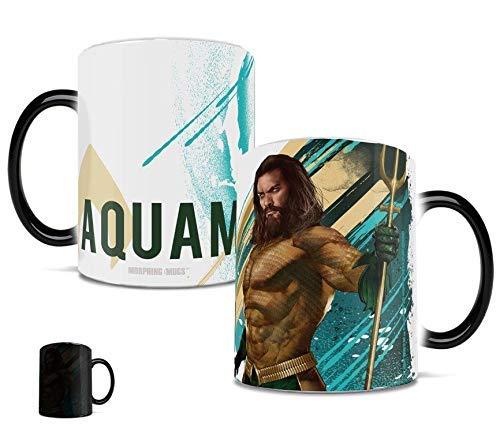 Aquaman Morphing Mugs Heat Sensitive Mug – Arthur Curry - Ceramic Color Changing Heat Reveal Coffee Tea Mug