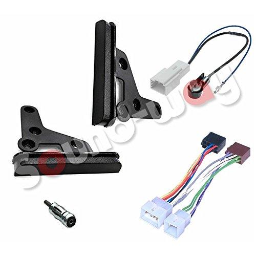 Sound-way Installatie Kit Autoradio 2 DIN compatibel mer Toyota RAv4, Celica, Yaris
