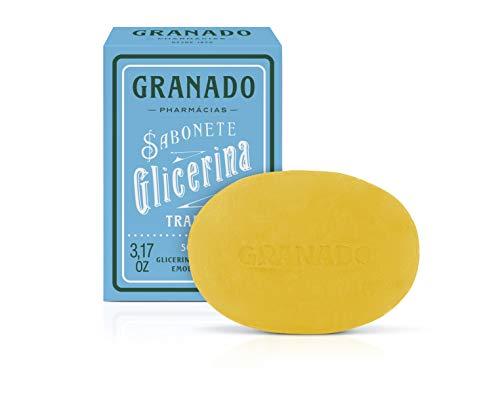 Sabonete Vegetal de Glicerina Tradicional, Granado, Amarelo, 90G