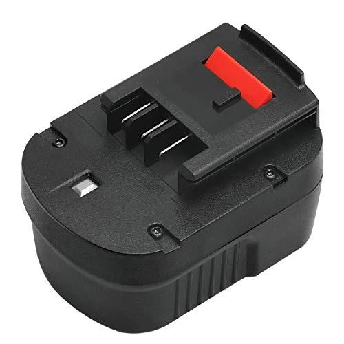 ADVNOVO 12V 3,5Ah Ni-MH A12 Batería de Reemplazo para Black + Decker A12 A1712 A12E A12-XJ HPB12 HP122 FS120B FS120BX FSB12