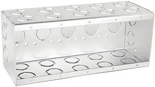 Solid 3-1/2 Inch Deep Five Gang Masonry Box-1 per case