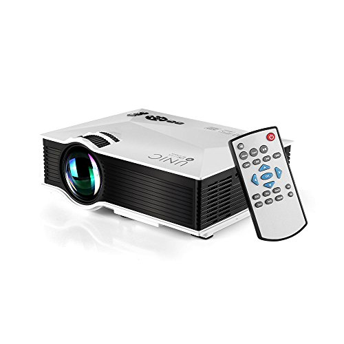 『UNIC UC46 LEDプロジェクター 1080P WIFI無線接続 1200ルーメン IOS10も対応 ホームシアター 会議用 (白)』の5枚目の画像