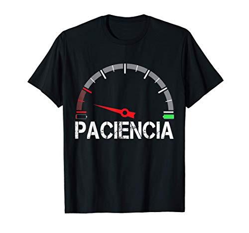 Paciencia at 1% Regalo Divertido Cumpleaños Pijama Parejas Camiseta