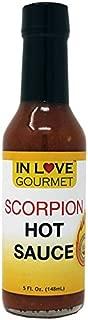 In Love Gourmet Scorpion Hot Sauce 5 fl. oz. Butch T Scorpion Pepper Sauce Gourmet Hot Sauce