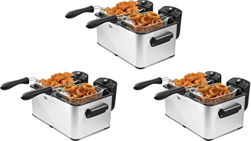 Maxi-Matic Elite Platinum Deep Fryer (8 quart 3-Pack)