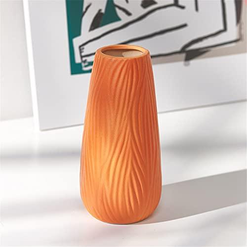 RZHIXR Jarrón De Color Creativo, Adecuado para Oficina, Sala De Estar, Cocina, Decoración De Mesa, Arreglo Floral De Plantas Y Decoración De Flores Secas