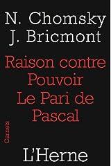Raison contre pouvoir : Le pari de Pascal (Carnets de L'Herne) Format Kindle
