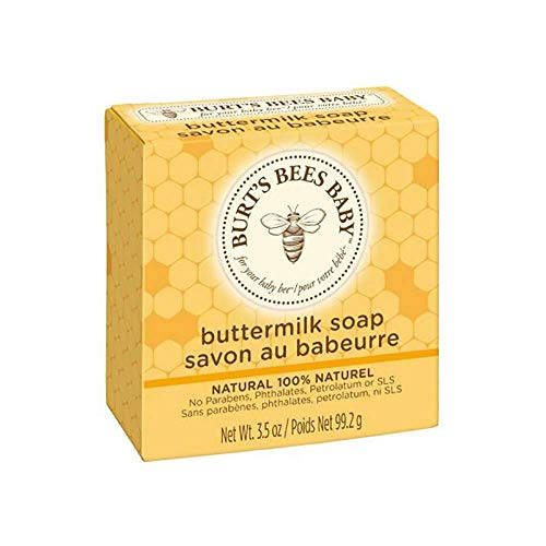 Burt's Bees Baby Buttermilk Soap 3.5 Oz Bar 3 Pack