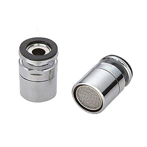 3 modos de latón, ahorro de agua, grifo, aireador, boquilla rociadora, difusor giratorio de 360 grados, extensor de grifo, aireador flexible, C, como se muestra