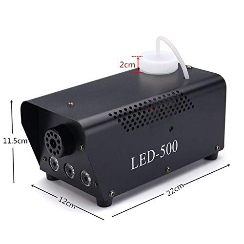 Uzone Mini Nebelmaschine 500 Watt mit LED Erfahrungen & Preisvergleich
